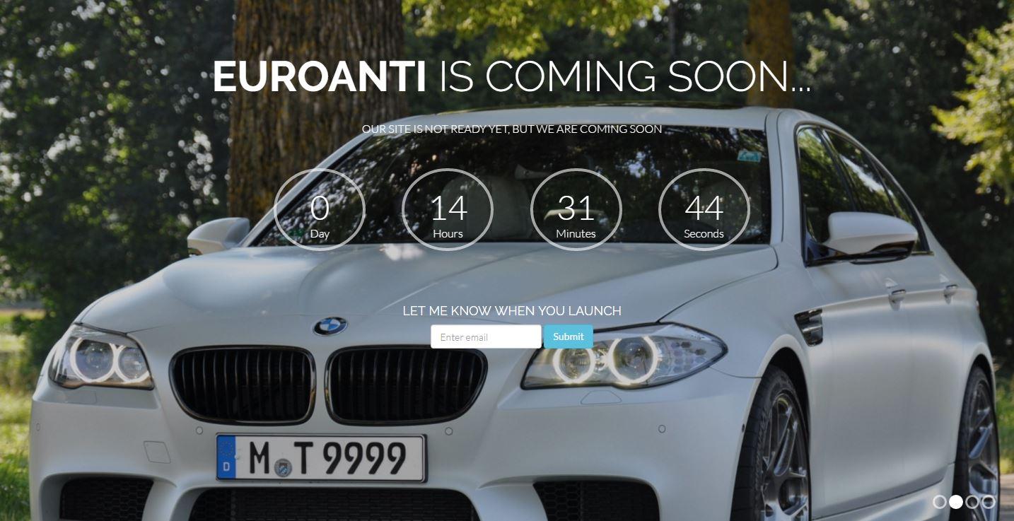 Euroanti.com is coming soon